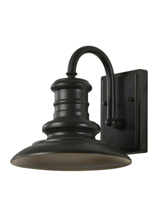 Feiss OL8600RSZ-LED Exterior Outdoor Wall Lantern in Restoration Bronze Finish