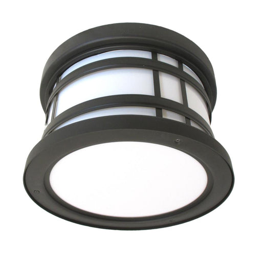 Oxygen Lighting 2-703-295 Stratford Collection Two Light Energy Efficient Fluorescent Outdoor Exterior Ceiling Mount in Old World Bronze Finish - Discount Lighting Fixtures