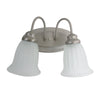 Trans Globe LIghting 6662 PW Two Light Bath Vanity Wall Mount in Pewter Finish - Discount Lighting Fixtures