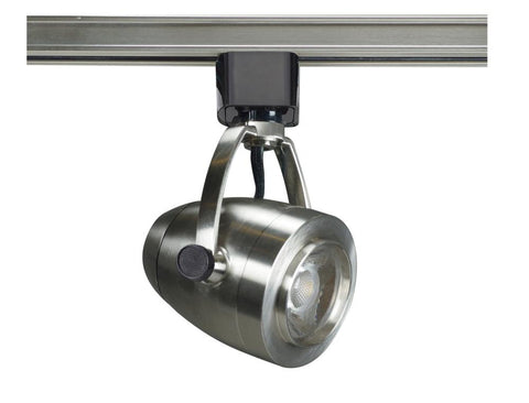 Pinch Back Model #41P LED Track Head in Brushed Nickel, Black, or White Finish