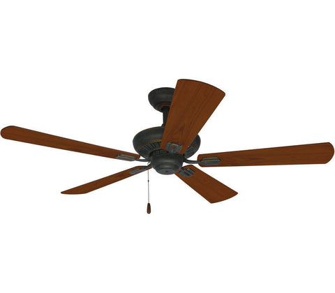 Craftmade Ellington UPT52AVG5 Uptown Collection Ceiling Fan in Antique Verde Gold Finish - Quality Discount Lighting