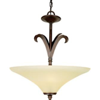 Quoizel Lighting 5657 TB Couture Collection Four Light Pendant Chandelier in Terra Bronze Finish - Quality Discount Lighting