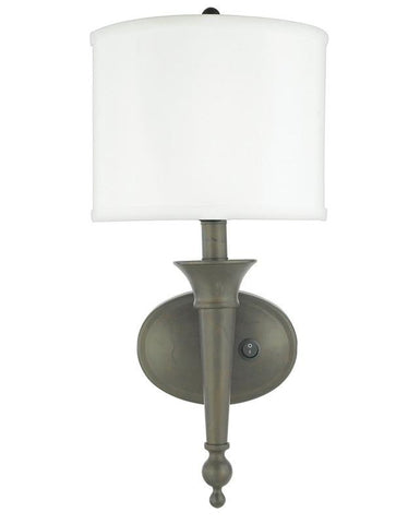Quoizel Lighting HDS1080 SC Plug In Wall Sconce in Scandinavian Bronze Finish - Quality Discount Lighting