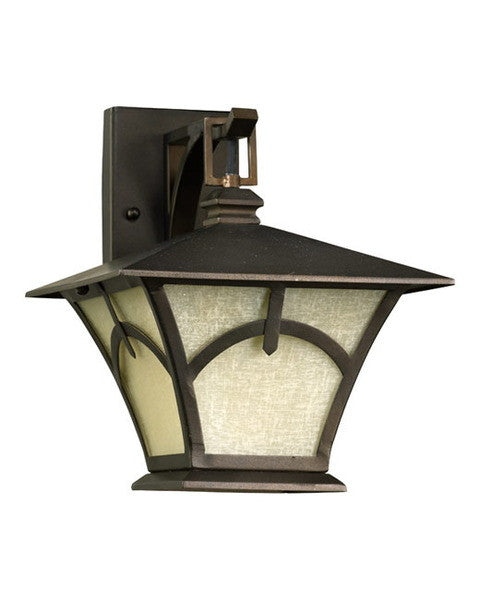 Epiphany Lighting 104894 Bk One Light Outdoor Exterior: Quorum International 7386-86 Wall Lantern In Oiled Bronze