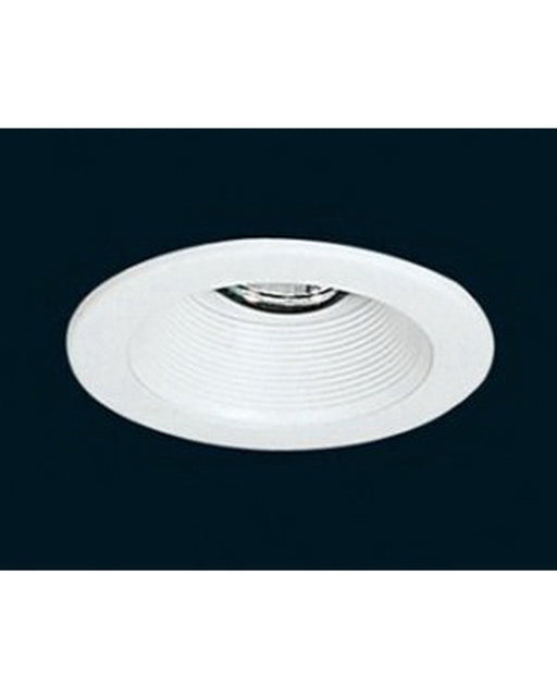 "Epiphany 400566 WH 4"" Low Voltage Recessed Baffle Trim that Works with HALO - Quality Discount Lighting"