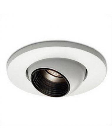 "Epiphany 400515 WH 4"" Low Voltage Eyeball Trim that Works with HALO - Quality Discount Lighting"