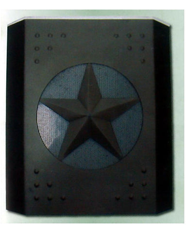 Epiphany Lighting 103252 ORB Two Light TEXAS STAR Wall Sconce in Oil Rubbed Bronze Finish - Quality Discount Lighting