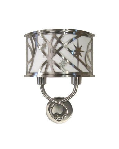 Quoizel Lighting CON506L Two Light Energy Efficient GU24 Fluorescent Wall Sconce in Brushed Nickel Finish - Quality Discount Lighting