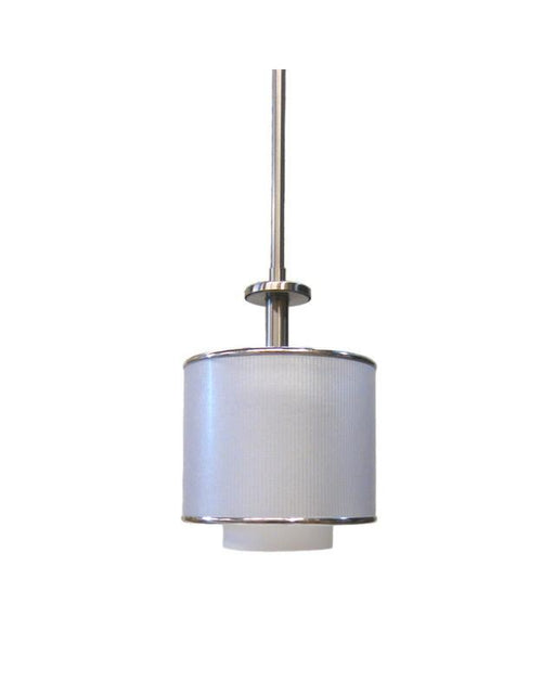 Quoizel Lighting HSW1507 BN One Light Mini Pendant in Brushed Nickel Finish - Quality Discount Lighting