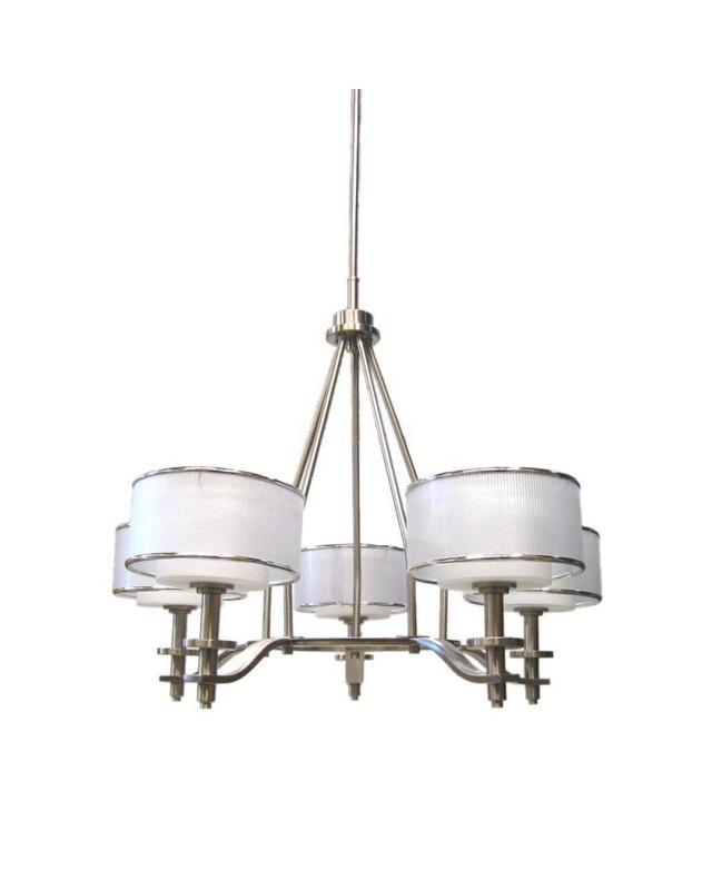 Quoizel Lighting HSW5005 BN Hillsview Collection Five Light Chandelier in Brushed Nickel Finish - Quality Discount  sc 1 st  Quality Discount Lighting & Quoizel Lighting HSW5005 BN Hillsview Collection Five Light ...
