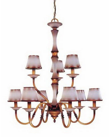 Nuvo Lighting 60-1643 Cornelia Collection Nine Light Chandelier in Newport Copper Finish - Quality Discount Lighting