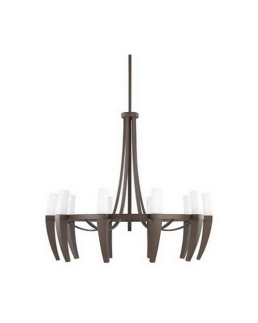 Kichler Lighting 2137 OZ Cava Collection Ten Light Hanging Chandelier in Olde Bronze Finish - Quality Discount Lighting