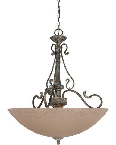 Nuvo Lighting 60-1153 Celeste Collection Four Light Pendant Chandelier in Gold Coast Finish - Quality Discount Lighting