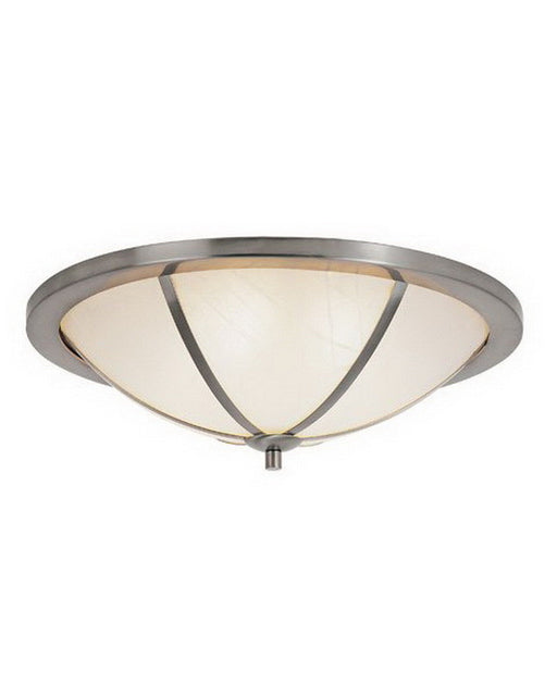 Trans Globe Lighting 10121 BN Six Light Flush Ceiling Mount in Brushed Nickel Finish - Quality Discount Lighting