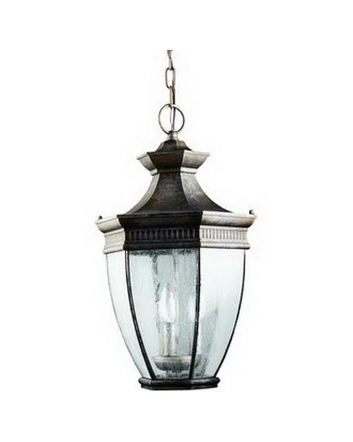 Kichler Lighting 9371 TZG Three Light Outdoor Exterior Hanging Fixture in Cambridge Finish - Quality Discount Lighting