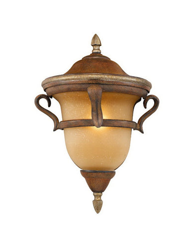 Kalco Lighting 9376 GG Four Light Outdoor Exterior Hanging Lantern in Golden Grain Finish - Quality Discount Lighting