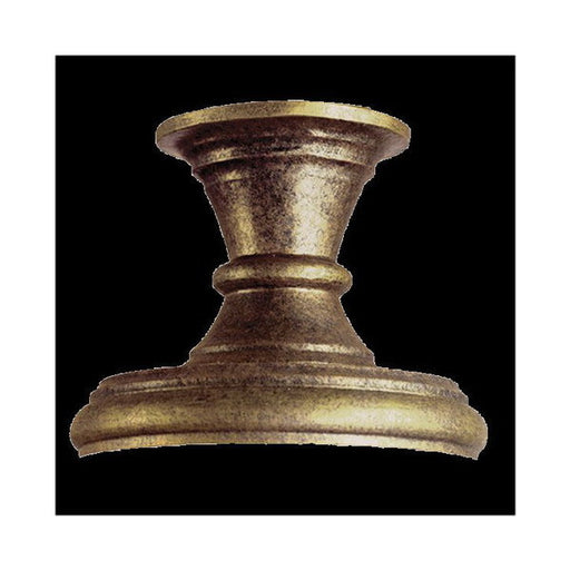 Kalco Lighting 9058 GP Exterior Post Light Pier Mount Base in Gold Powder Finish - Quality Discount Lighting