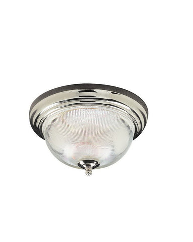 Trans Globe Lighting 13411 WH Two Light Flushmount in White Finish - Quality Discount Lighting
