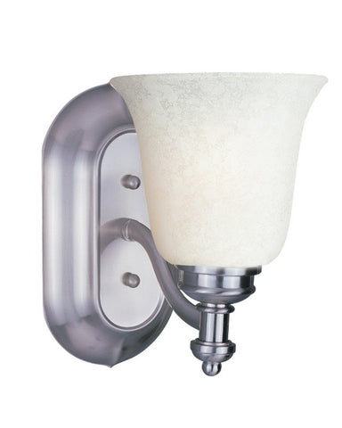 Z-Lite Lighting 301-1V-BN-WM6 One Light Wall Sconce in Brushed Nickel Finish - Quality Discount Lighting