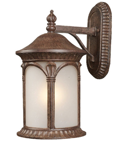 Z-Lite Lighting 2021M-WB One Light Outdoor Exterior Wall Mount in Weathered Bronze Finish - Quality Discount Lighting