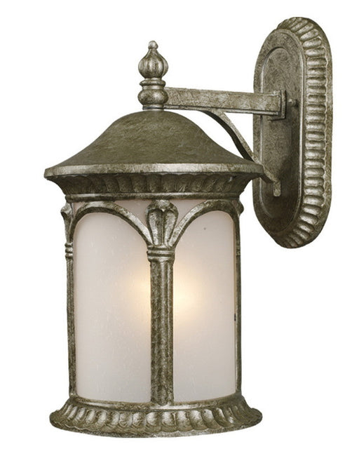 Z-Lite Lighting 2021M-AS One Light Outdoor Exterior Wall Mount in Antique Silver Finish - Quality Discount Lighting