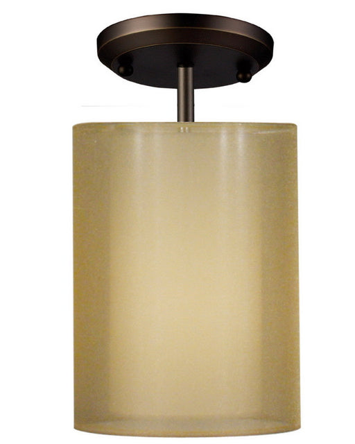 Z-Lite Lighting 144-6G-SF One Light Semi Flush Ceiling Mount in Antique Brass Finish - Quality Discount Lighting