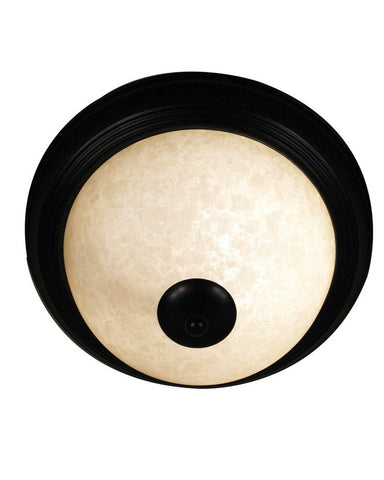 Z-Lite Lighting 100F11-BRZ One Light Flush Ceiling Mount in Bronze Finish - Quality Discount Lighting