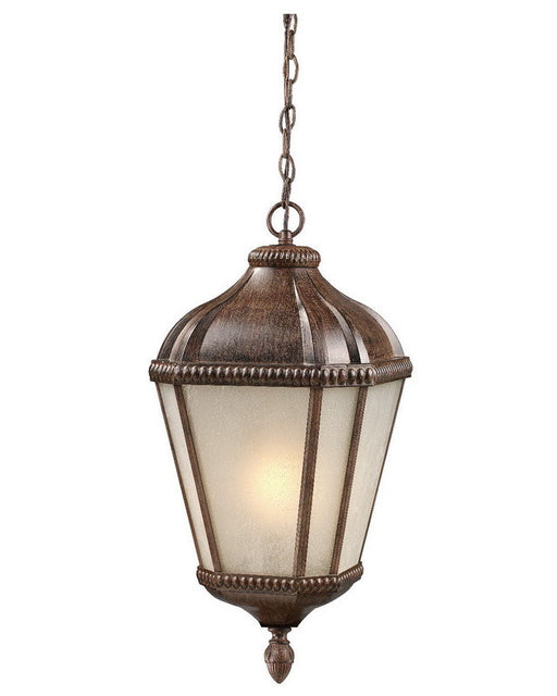 Z-Lite Lighting 513CHS-WB One Light Outdoor Exterior Hanging Pendant Mount in Weathered Bronze Finish - Quality Discount Lighting
