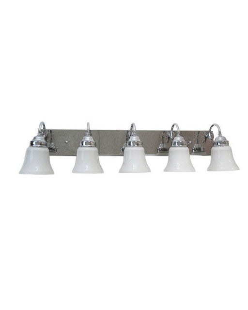 Epiphany Lighting 106095 CH-2537 Five Light Bath Wall Fixture in Polished Chrome Finish