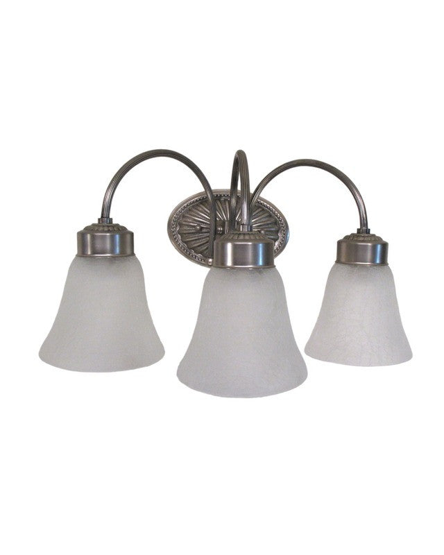 Image World Imports Lighting 6203-17 Three Light Bath Vanity Wall Sconce in Pewter Finish Home/Family World Imports Lighting 6203-17 get more ikswxthicpod