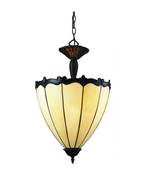 Z-Lite Lighting Z16-39P Three Light Pendant Chandelier in Chestnut Bronze Finish - Quality Discount Lighting
