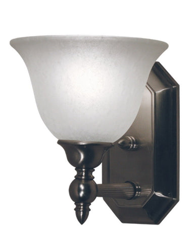 Z-Lite Lighting 901-1V-BN One Light Wall Sconce in Brushed Nickel Finish - Quality Discount Lighting