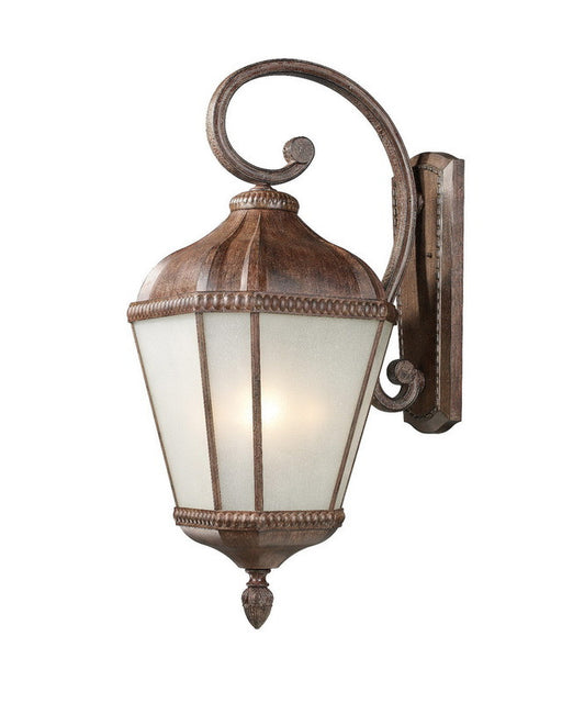 Z-Lite Lighting 513B-WB Four Light Outdoor Exterior Wall Mount in Weathered Bronze Finish - Quality Discount Lighting
