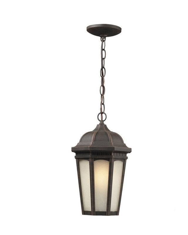 Quality Landscape Lighting Fixtures: Z-Lite Lighting 508CHB-ABR One Light Outdoor Exterior