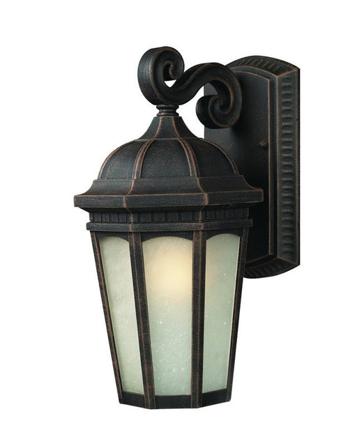 Z-Lite Lighting 508B-ABR One Light Outdoor Exterior Wall Lantern in Antique Bronze Finish - Quality Discount Lighting