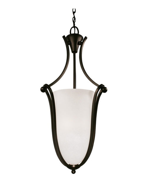 Z-Lite Lighting 317P-32 Three Light Hanging Pendant Chandelier in Bronze Finish - Quality Discount Lighting