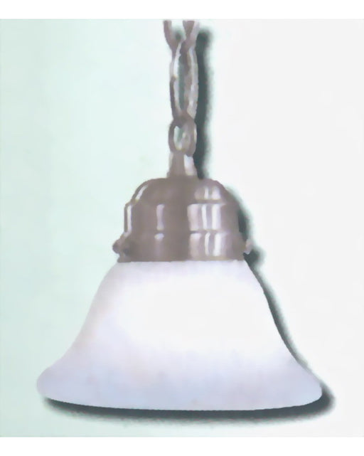 Epiphany Lighting 102812 BN One Light Mini Pendant in Brushed Nickel Finish - Quality Discount Lighting