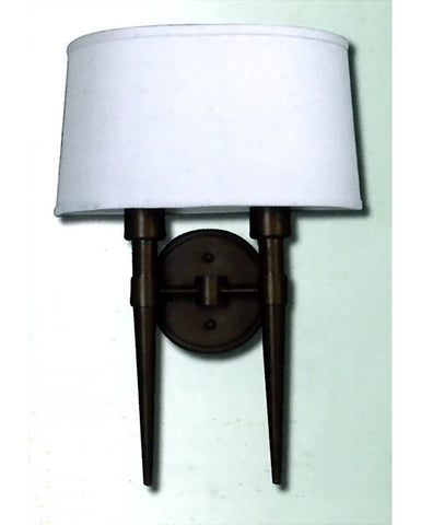 Epiphany Lighting 103452 ORB TCC Two Light Wall Sconce in Oil Rubbed Bronze Finish - Quality Discount Lighting