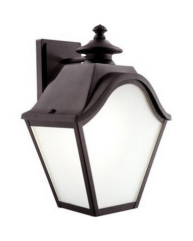 Trans Globe Lighting 5812 BK Three Light Outdoor Wall Lantern in Black Finish