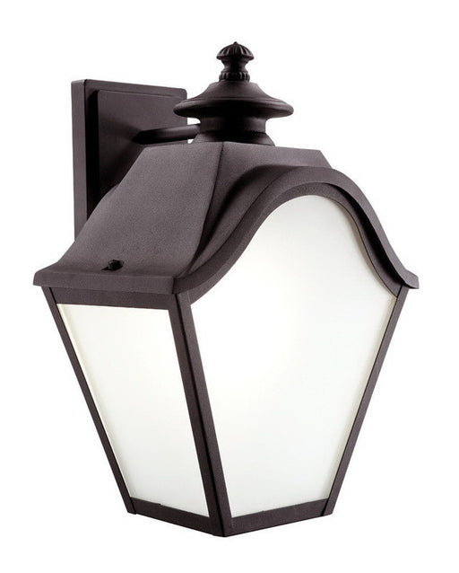 Trans Globe Lighting 5811 BK Two Light Outdoor Wall Lantern in Black Finish