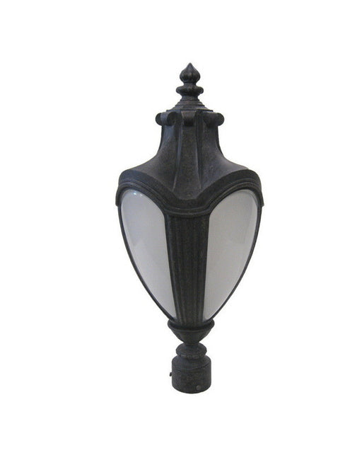Kalco Lighting 9529 AK One Light Exterior Outdoor Post Lantern in Antique Black Finish - Quality Discount Lighting