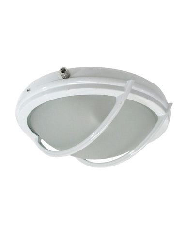 Epiphany 103614-26 WH Two Light Indoor or Outdoor Fan Light Kit in White Finish - Quality Discount Lighting