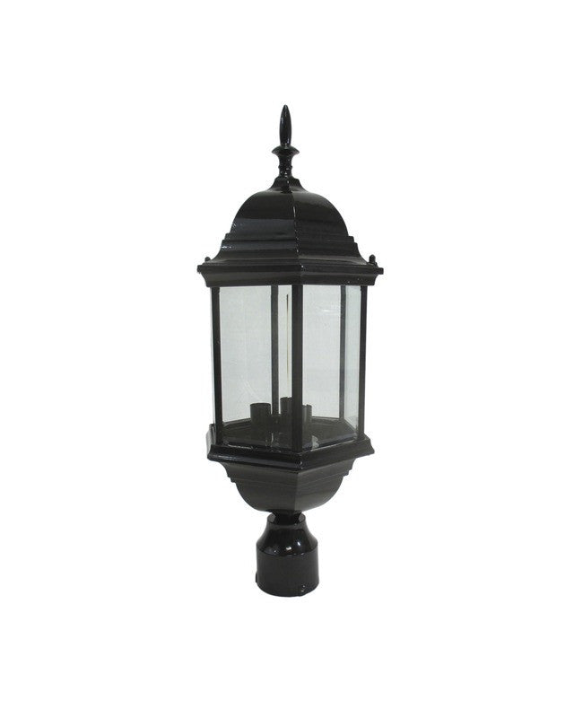 Epiphany Lighting 104894 Bk One Light Outdoor Exterior: Epiphany Lighting 104986 BK Cast Aluminum Outdoor Exterior