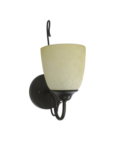 Epiphany Lighting 103272 ORB One Light Wall Sconce in Oil Rubbed Bronze Finish - Quality Discount Lighting