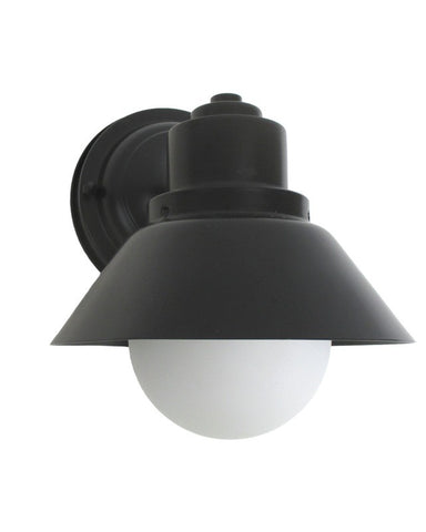 Epiphany Lighting 104234 BK One Light Outdoor Exterior Wall Mount in Black Finish