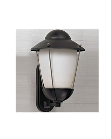 Quoizel Lighting BD8313K Belvedere Collection One Light Outdoor Wall Mount in Mystic Black Finish - Quality Discount Lighting