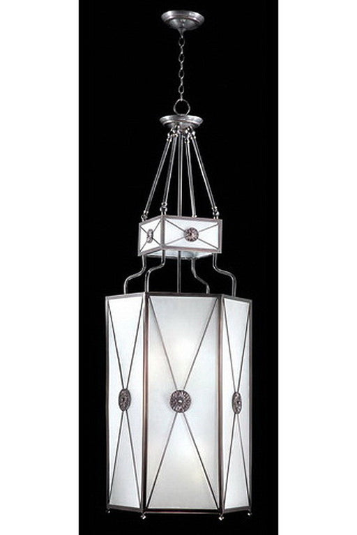 Stylicon by Thomas Lighting AE3305-CBZ Chicago School Collection 6 Light Lantern Chandelier/Pendant in Classic Bronze Finish - Quality Discount Lighting