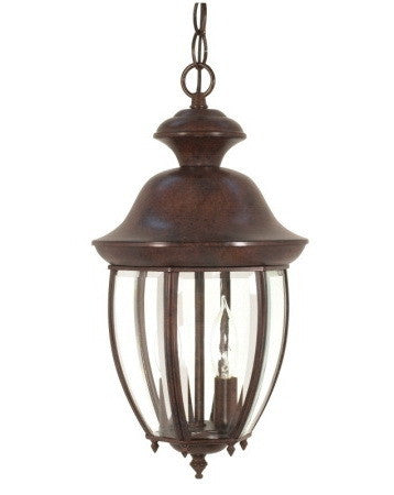 Nuvo Lighting 60-768 New Haven Collection Exterior Outdoor Hanging Lantern in Old Bronze Finish - Quality Discount Lighting