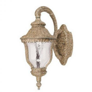 Leadco Lighting 0252 AU One Light Exterior Outdoor Wall Fixture in Antique Umber Finish - Quality Discount Lighting