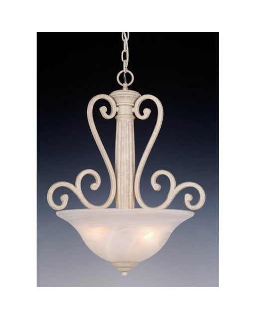 Vaxcel Lighting PD32819 NS 3 Light Pendant Chandelier in Noachian Stone Finish - Quality Discount Lighting